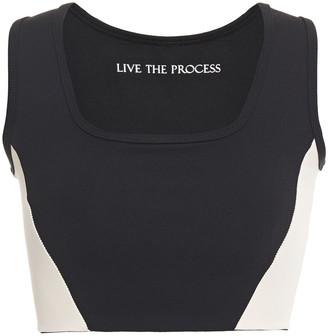 Live The Process Transcend Stretch-supplex Sports Bra