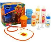 Evenflo Zoo Friends Decorated Bottle Gift Set, BPA-Free