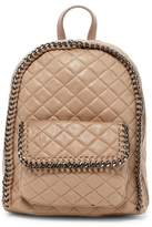 Urban Expressions Caleb Quilted Vegan Suede Mid Backpack