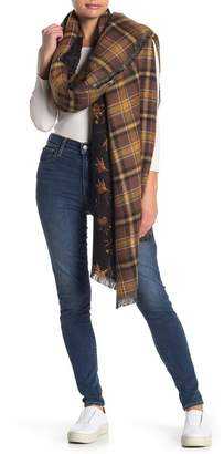 Melrose and Market Reversible Blanket Wrap