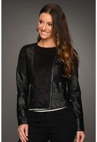 BB Dakota Andrey Pleather Jacket (Black) - Apparel