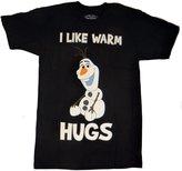 Mighty Fine Frozen Olaf I Like Warm Hugs T-shirt