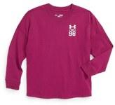 Under Armour Varsity HeatGear ® Tee (Big Girls)