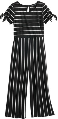 My Michelle Girls 7-16 Tie Sleeves Jumpsuit