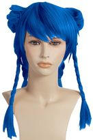 Braided cosplay costume wig - adult
