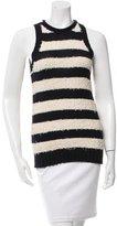 Derek Lam 10 Crosby Sleeveless Striped Sweater