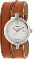 Tissot Women's T-Trend T084.210.16.017.04 Brown Leather Analog Quartz Watch