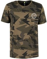 Criminal Damage Print Tshirt Black/multi