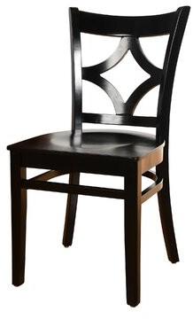 Mignone Bloomsbury Market Solid Wood Dining Chair Bloomsbury Market Color: Espresso