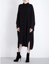 Y's YS Oversized dolman-sleeve poplin shirt dress