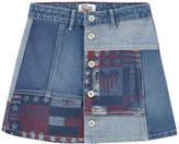 Tommy Hilfiger Printed jean skirt