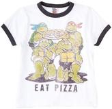 Junk Food Clothing Eat Pizza Ninja Turtles Tee (Toddler Boys)