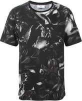 Ami Alexandre Mattiussi floral print crew neck T-shirt