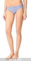 Calvin Klein Underwear Solid Invisibles Thong