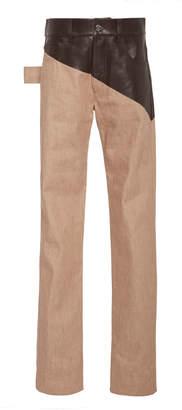 Bottega Veneta High-Rise Dual Denim Trouser