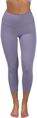90 Degree By Reflex High Waist Capri Leggings