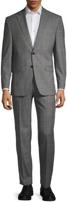 Ralph Lauren Slim-Fit Wool-Blend Plaid Suit