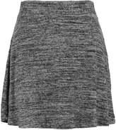 Pieces PCJOLIE SKATER Aline skirt dark grey melange
