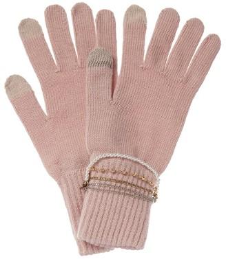 Eugenia Kim Sloane Wool-Blend Gloves