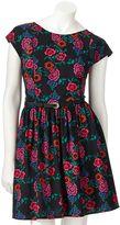 Lauren Conrad floral bow dress