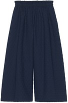 Gucci Quilted culotte trousers