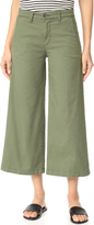 Baldwin Denim Devin Mid Rise Cropped Trousers