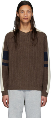 Gr Uniforma GR-Uniforma Brown Graphic Rib Sweater