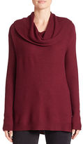 Lord & Taylor Petite Cowlneck Sweater