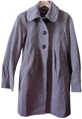 Comptoir des Cotonniers Grey Cotton Trench coats