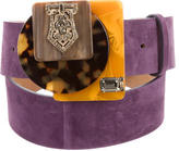 Missoni Suede Embellished Belt