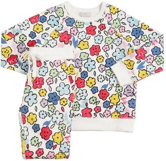 Stella McCartney All Over Print Sweatshirt & Sweatpants