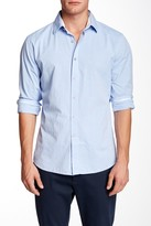 James Campbell Coltrane Stripe Regular Fit Shirt