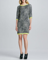 Alice & Trixie Marni Three-Quarter-Sleeve Dress