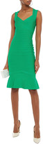 Thumbnail for your product : Herve Leger Fluted Cutout Bandage Dress