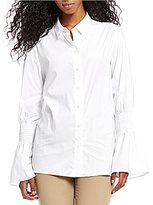 Antonio Melani Sadie Smocked Sleeve Blouse