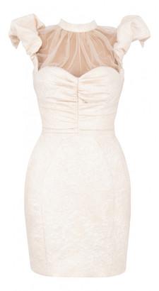 House Of CB White Polyester Dresses