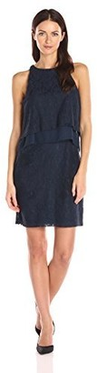 Betsey Johnson Women's Lace Popover Dress
