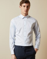Ted Baker ZENDAYR Plain cotton shirt