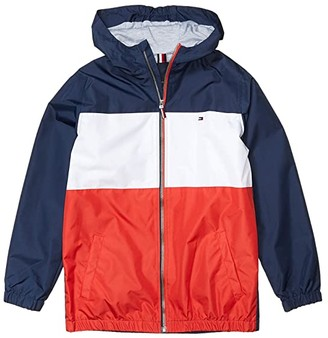 Tommy Hilfiger Preston Lightweight Jacket (Big Kids) (Navy Blazer) Boy's Clothing