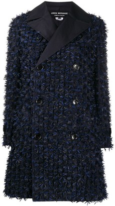 Junya Watanabe Appliqued Double-Breasted Coat