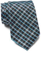 Calvin Klein Onyx Grid Woven Tie