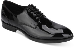 Kenneth Cole New York Men's Futurepod Patent Leather Oxfords Men's Shoes