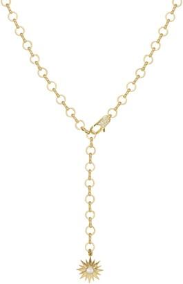 Ettika Starburst Lariat Necklace