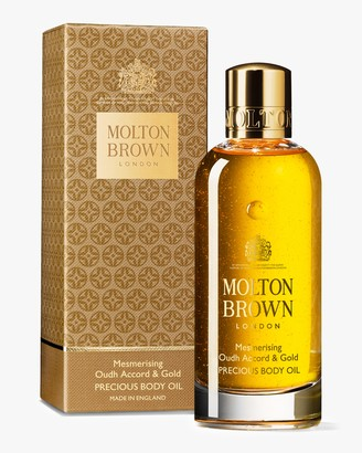 Molton Brown Mesmerising Oudh Accord Gold Precious Bathing Oil 3.3oz