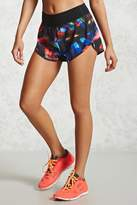 Forever 21 Active Abstract Print Shorts