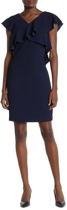 Trina Turk Cameron Ruffle Mini Dress