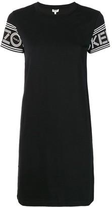 Kenzo logo sleeve T-shirt dress