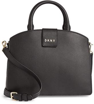 DKNY Clara Leather Satchel