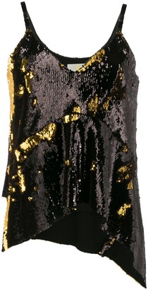 Marques Almeida Sequin Embellished Top