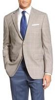 Peter Millar Men's 'Flynn' Classic Fit Windowpane Wool Sport Coat
